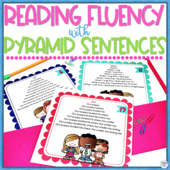 Fluency Pack #3 Pyramid Sentences