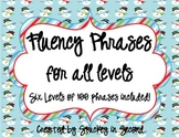 Fluency Phrase Games for All Levels (6 Games!)