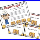 Fluency Phrases: Flapjack Phrases Dolch and Fry Combination