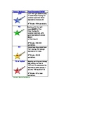 Fluency Rubric Bookmarks - Marzano Compatible