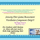 Fly Me To The Moon Vestibular System Autism Game/Assess Sp