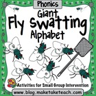 Fly Swatting Letters- Giant Flies