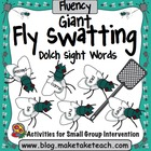 Fly Swatting Sight Words- Giant Flies