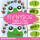 Fly'n'Frog - Math Center Game for Counting On and Counting Back