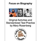 Focus on Biography: Original Activities & Standardized Tes