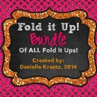 Fold it Up! BUNDLE of Middle School Math Foldables