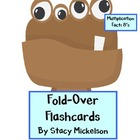 Folded Flashcards - Multiplication - 8's