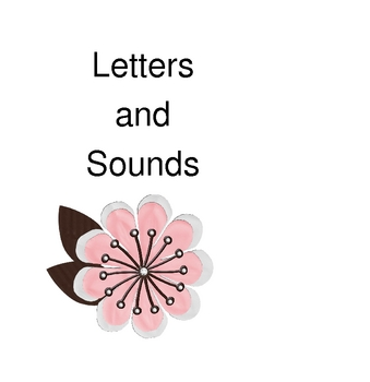 Folder Game: Letters and Sounds