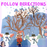 Following Directions All Through the Winter for speech the
