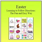 Following Directions Easter Fun Activity