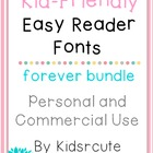 Fonts~ Kid-Friendly~ Personal or Commercial Use {Kidsrcute}
