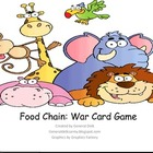 Food Chain War Card Game