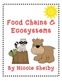 Food Chains, Food Webs, and Ecosytems Science Activities