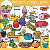 Food Groups Clip Art