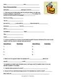 Food Label Evaluation and KEY