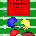 Football Helmet Multiplication & Division Fact Families