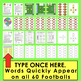 Football Sight Words Activities- First 100 Dolch - Super Sunday