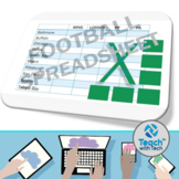 Excel Activity Football Spreadsheet