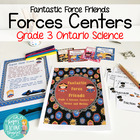 Force Friends! Grade 3 Force and Motion Science Centers