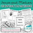 Force and Motion for Interactive Science Notebook