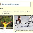 Forces, Buoyancy, Pressure, Area, and Force