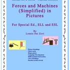 Forces and Machines in Pictures for Special Ed., ELL and E