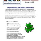 Foreign Language Classroom Teaching Activities (1/2013)