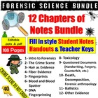 Forensic Science Lecture Notes Handouts