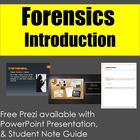 Forensics: An Introduction to Forensic Science Lecture & N