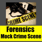 Forensics: Mock Crime Scene Project Outline with Handouts
