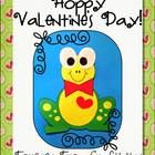 Forever Frog Craftivity - Valentine's Day Activities & Printables
