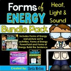 Forms of Energy BUNDLE PACK!!! {PowerPoint, Build the Sent