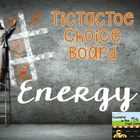 Forms of Energy TicTacToe Extension Activities