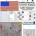 American History - Supplemental Resource BUNDLE (Handouts,