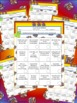 Four Book BINGO (2nd, 3rd, and 4th grade)- BUNDLE PACK- reading