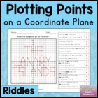 Coordinate Grid Riddles (Four Quadrant) 6.NS.6c