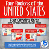 Four Regions of the United States: 4 complete units