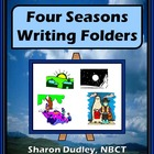 Four Seasons Writing Folders