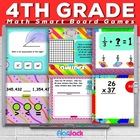 Fourth Grade Common Core Based Math SMART BOARD Game Pack