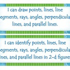 Fourth Grade Common Core I Can Statements - Geometry