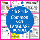 4th Grade Common Core Language Bundle