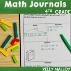 Math Journal - Fourth Grade Aligned to Common Core