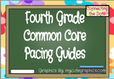 Fourth Grade Quarterly Pacing Guides- Editable