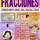 Fracciones - Tarjetas De Intercambio - Math Games and Lesson Plan