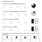 Fraction Assessments or Worksheets