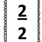 Fraction Cards:  Names of 1