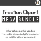 Fraction Clipart Megabundle!