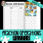 Fraction Concepts Puzzle