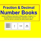 Fraction & Decimal Number Books