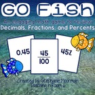 Fraction, Decimal, and Percent Go Fish!